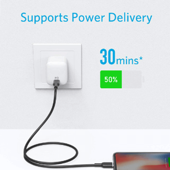 Picture of Anker Powerline II USB-C to Lightning Cable (0.90cm)