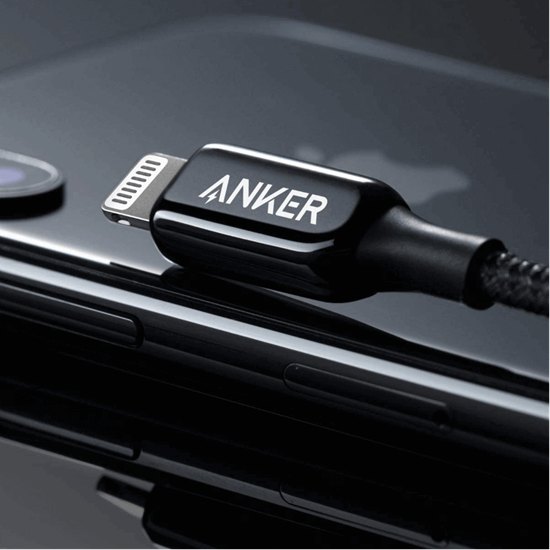 Picture of Anker PowerLine+ III USB C to Lightning Cable 1.80cm - Black
