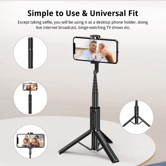 Picture of ATUMTEK Bluetooth Selfie Stick Tripod Stand