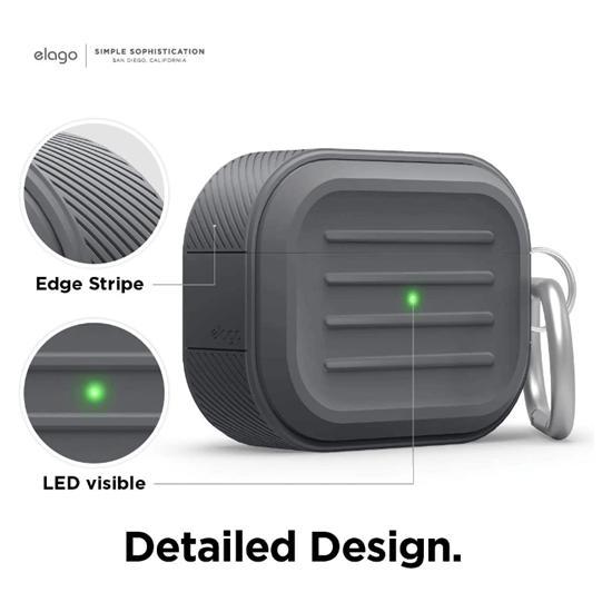 Picture of elago Armor AirPods Pro Case (Dark Grey)