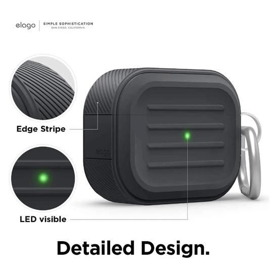 Picture of elago Armor AirPods Pro Case (Black)