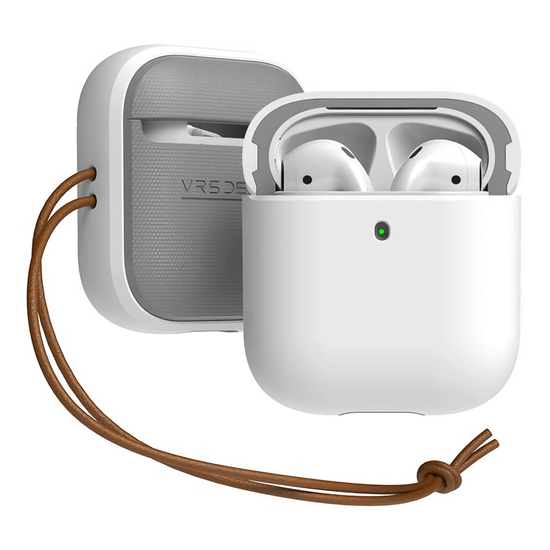 Picture of VRS Design Modern Case for Apple Airpods (White)