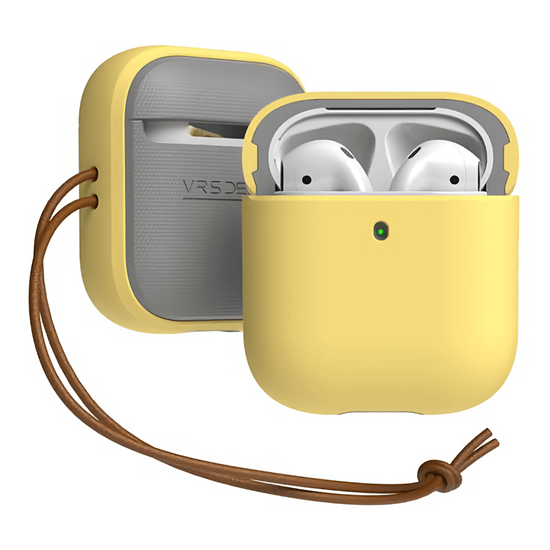 Picture of VRS Design Modern Case for Apple Airpods (Yellow)
