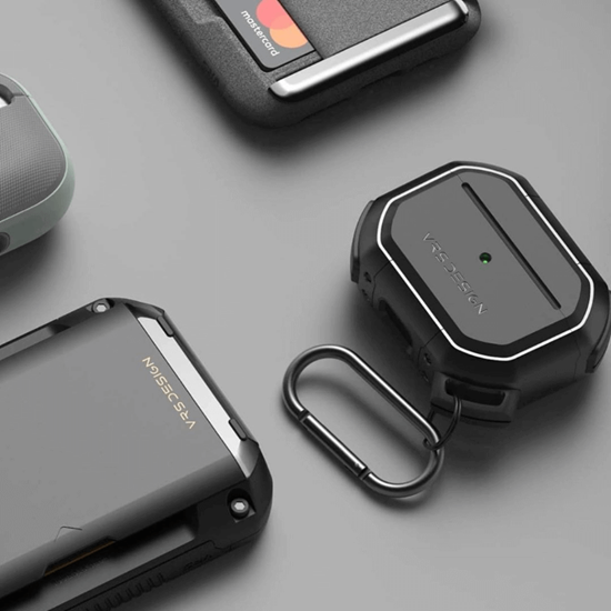 Picture of VRS Design Active case for Apple AirPods Pro (Metal Black)