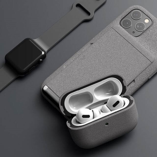 Picture of VRS Design Modern Case for Apple Airpods Pro (Sand Stone)