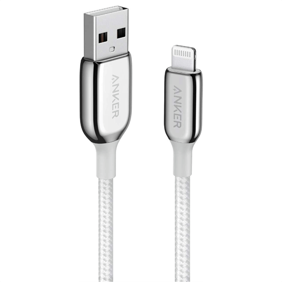 Picture of Anker Powerline+ III Lightning to USB A Cable 0.90cm (Silver)