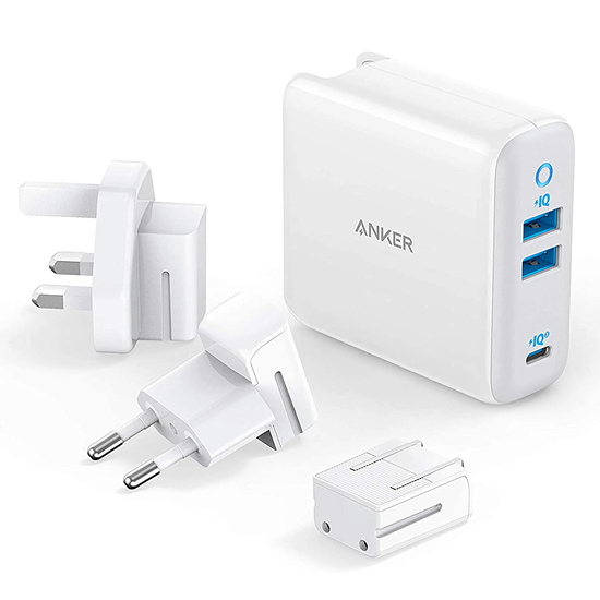 Picture of Anker 65W PowerPort III international (White)