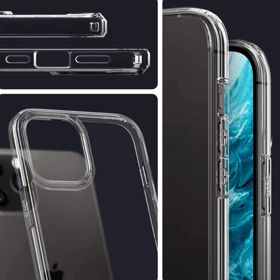 Picture of Spigen Ultra Hybrid Case for iPhone 12 Pro Max (Clear)