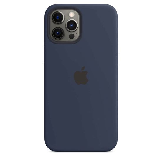 Picture of Apple Silicone Case with MagSafe for iPhone 12 Pro Max (Deep Navy)