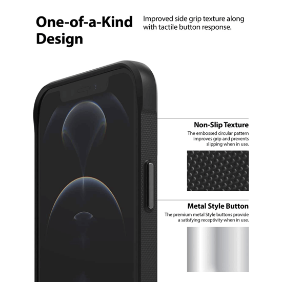 Picture of Ringke Onyx Design Case for iPhone 12 Pro Max (X Logo)