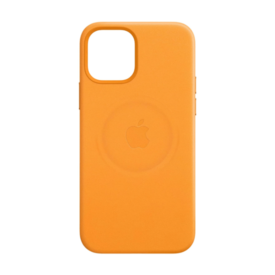 Picture of Apple Leather Case with MagSafe (for iPhone 12 Pro Max) California Poppy