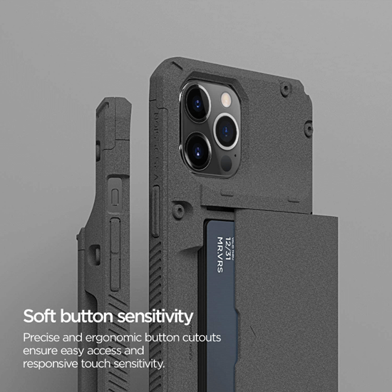 Picture of VRS Design Damda Glide Pro for iPhone 12 Pro Max (Sand Stone)