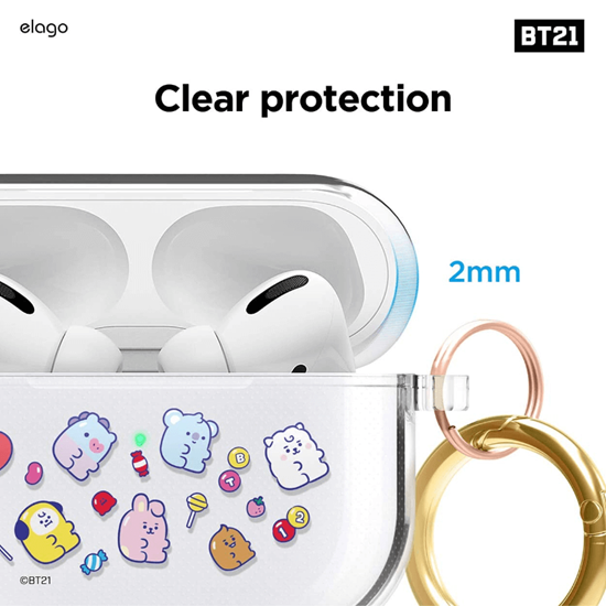 Picture of elago BT21 Case for Apple AirPods Pro Case