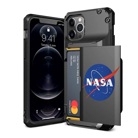 Picture of VRS DESIGN Damda Glide Pro Case for iPhone 12 / 12 Pro (Black-Nasa-Earth)