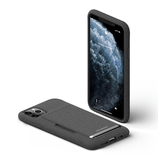Picture of VRS Design Damda Glide Shield for iPhone 11 Pro Max (Sand Stone-Silver Logo)
