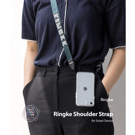Picture of Ringke Lanyard Shoulder Strap (Peacock Green)