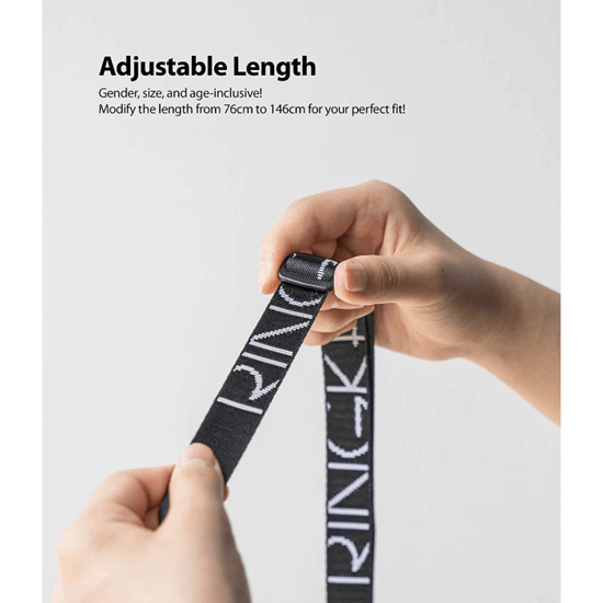 Picture of Ringke Lanyard Shoulder Strap (Black)