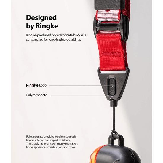 Picture of Ringke Lanyard Design Strap Lettering Shoulder Neck (Red)