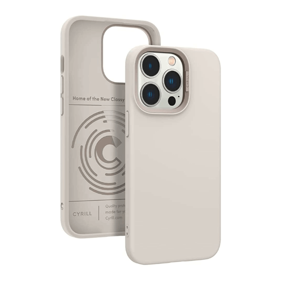 Picture of CYRILL Color Brick Case for iPhone 13 Pro (Cream White)