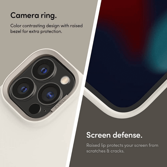 Picture of CYRILL Color Brick Case for iPhone 13 Pro Max (Cream White)