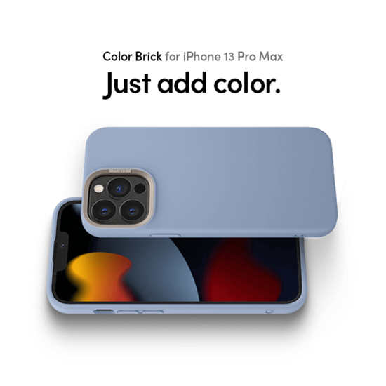 Picture of CYRILL Color Brick Case for iPhone 13 Pro Max (Sky)
