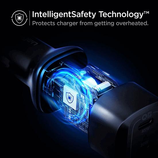 Picture of Spigen Dual USB C Car Charger (65W Total)