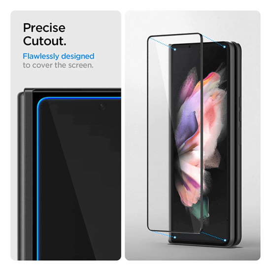 Picture of Spigen Tempered Glass Screen Protector for Galaxy Z Fold 3